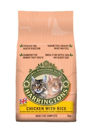 Harringtons: Cat Food Chicken with Rice 2kg