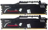 2x4GB Apacer Commando 2400MHz DDR4 Gaming RAM