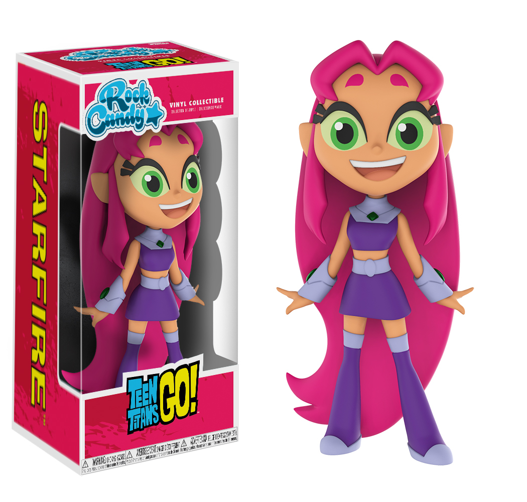 Teen Titans Go! Starfire - Rock Candy Vinyl Figure image