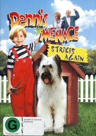 Dennis The Menace Strikes Again on DVD image