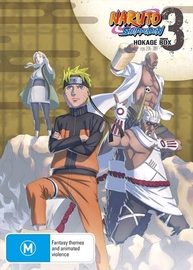 Naruto Shippuden - Hokage Box 3 (Eps 206-309) on DVD