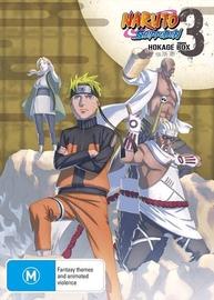 Naruto Shippuden - Hokage Box 3 (Eps 206-309) on DVD