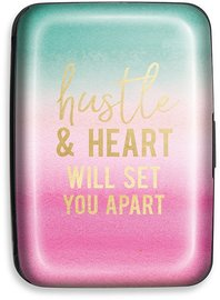 Lady Jayne: Credit Card Case - Hustle & Heart