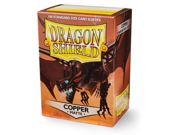 Dragon Shield Matte Copper Card Sleeves