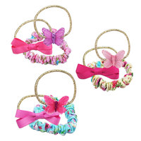 Pink Poppy: Butterflies & Florals - Hair Elastic Set (Assorted Colours)