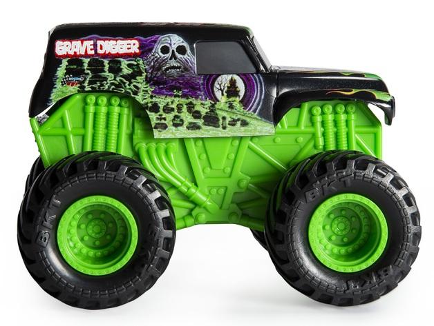 Monster Jam Rev N Roar Truck Grave Digger Toy At Mighty Ape Nz