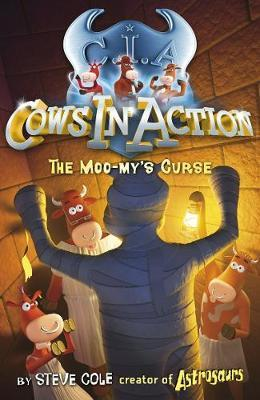 The Moo-my's Curse (Cows in Action #2) by Steve Cole image