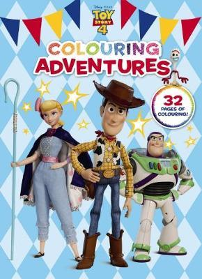 Toy Story 4: Colouring Adventures (Disney-Pixar)