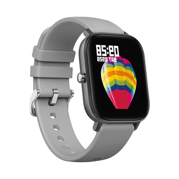 Smart Watch Fitness Tracker with Heart Rate Monitor - Gray