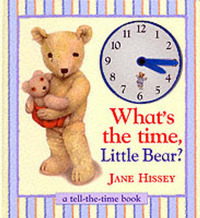 What's the Time Little Bear? by Jane Hissey image