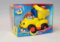 Fisher Price LP Lil Movers Dump Truck image