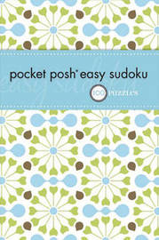 Pocket Posh Easy Sudoku by The Puzzle Society image