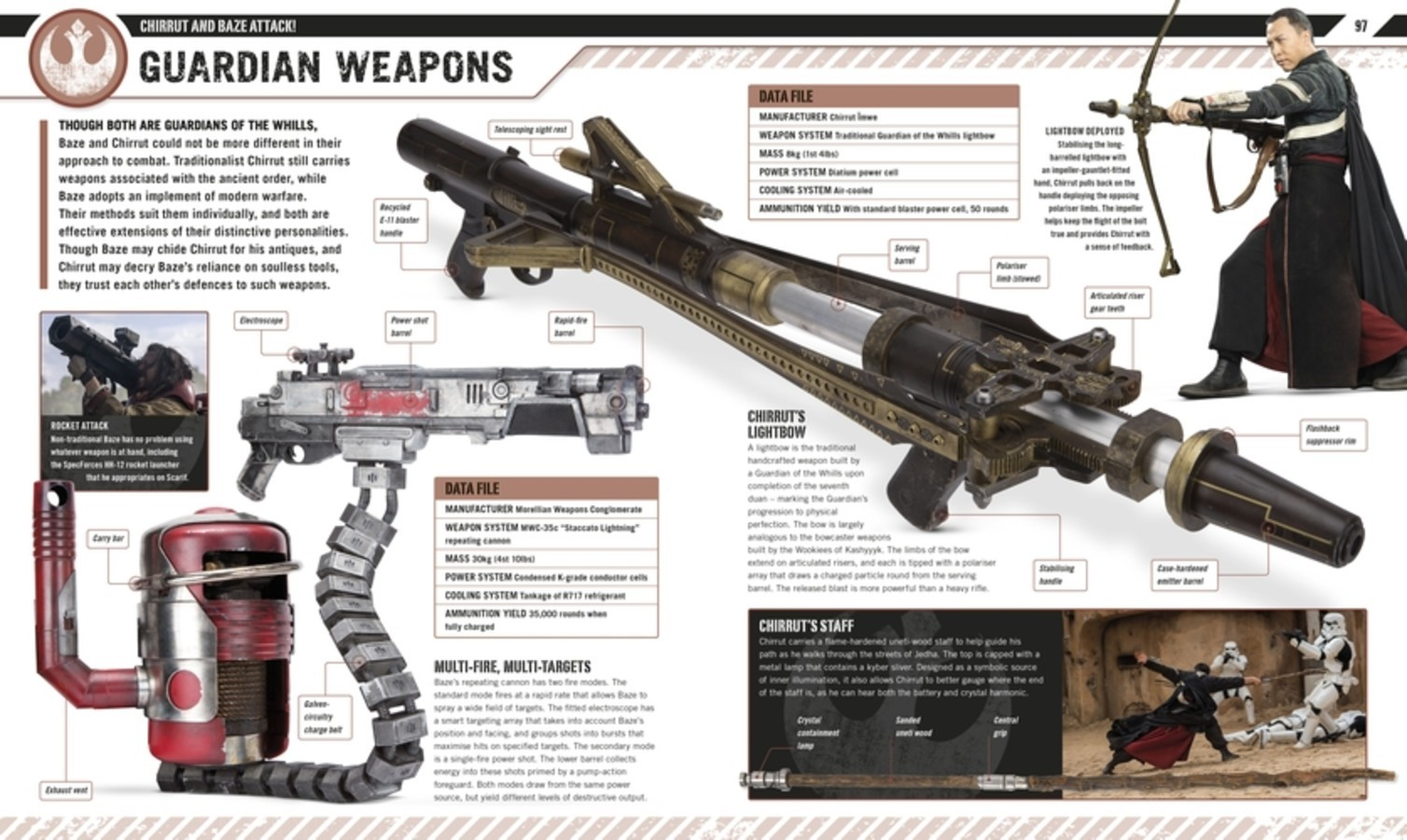 Star Wars Rogue One The Ultimate Visual Guide by Pablo Hidalgo image