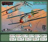 """Wingnut Wings 1/32 Albatros D.V/D.Va """"Jasta 5"""" Green Tail Trilogy set"""