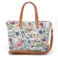 Loungefly Pokemon Character Print White Crossbody Purse