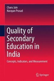 Quality of Secondary Education in India by Charu Jain image