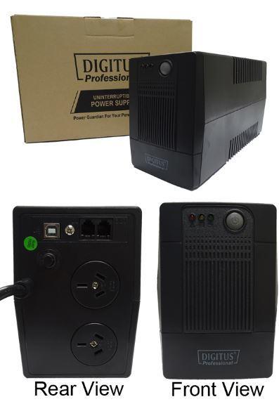 Digitus Line Interactive 600VA UPS (600VA/360W) image