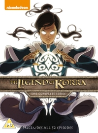The Legend of Korra: The Complete Series on DVD