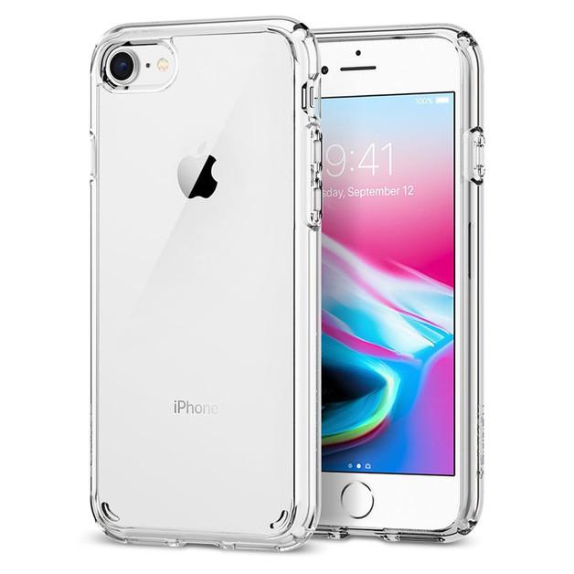 Spigen iPhone 8 /7 Ultra Hybrid 2 Case Crystal Clear