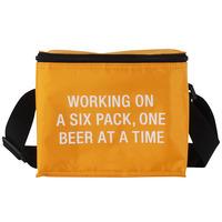 Small Cooler Bag Six Pack (Orange)