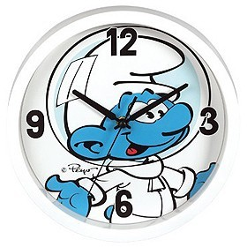 The Smurfs - Smurf Clock image