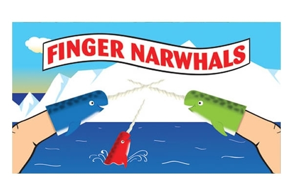 Finger Narwhals (set 5) image
