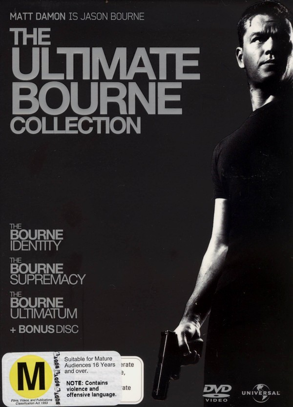 The Ultimate Bourne Collection (4 Disc Set) on DVD image