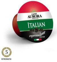 Caffe Aurora Italian Blend Coffee Capsules image
