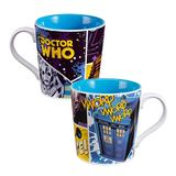 Doctor Who Cyberman & Tardis Mug