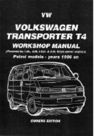 Volkswagen Transporter T4 Workshop Manual Owners Edition image