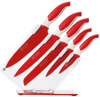 Maxwell & Williams: Slice & Dice - 6 Piece Knife Set (Red)