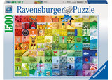 Ravenburger - 99 Colours Puzzle (1500pc)
