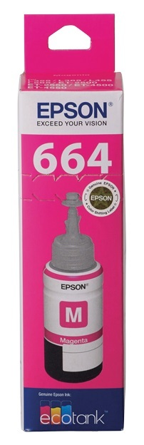 Epson T664 EcoTank Ink Bottle (Magenta)