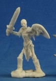 Dark Heaven Bones - Skeleton Guardian with Swords (3-pc)