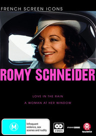 French Screen Icons: Romy Schneider on DVD image