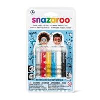 Snazaroo Facepaint Sticks: Adventure (6 Pack)
