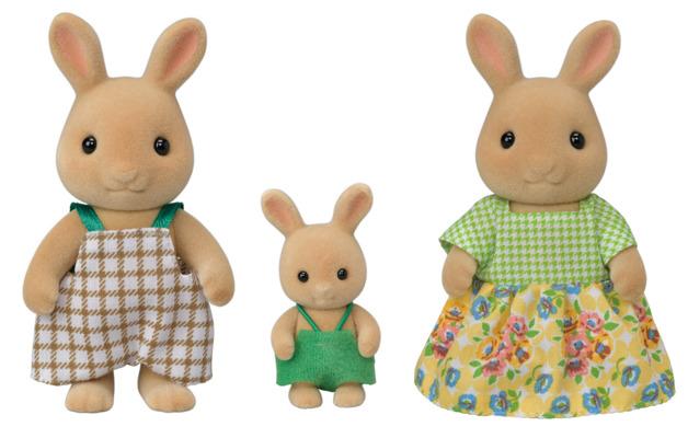 Sylvanian Families - Sunny Rabbit Family (3-Pack)