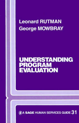Understanding Programme Evaluation by Leonard Rutman