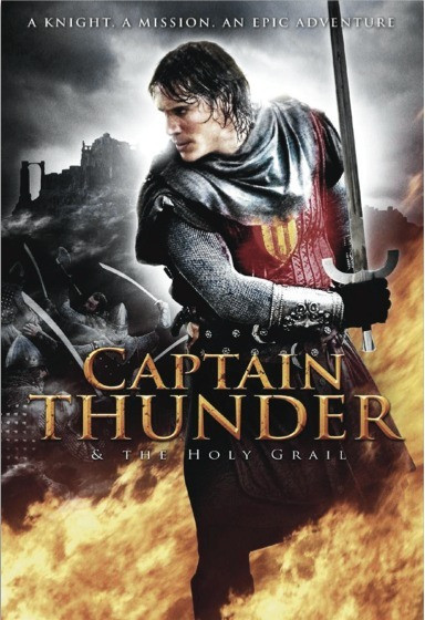 Captain Thunder and the Holy Grail on DVD