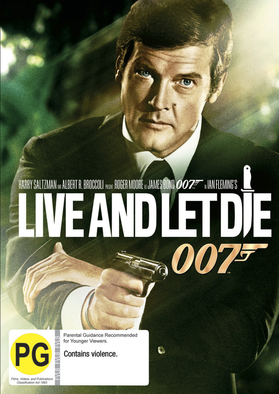 Live and Let Die (2012 Version) on DVD