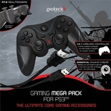 Gioteck Gaming Controller Mega Pack (Wired) for PS3
