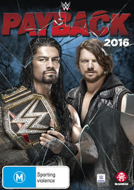WWE - Payback 2016 on DVD