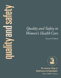 Quality and Safety in Obstetrics and Gynecology by Acog image
