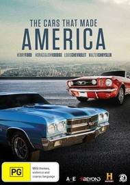 The Cars That Made America on DVD