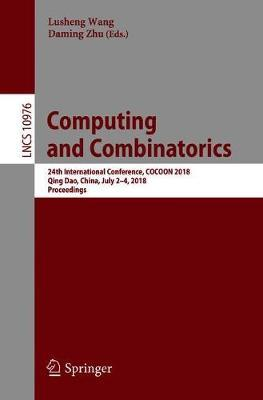 Computing and Combinatorics image