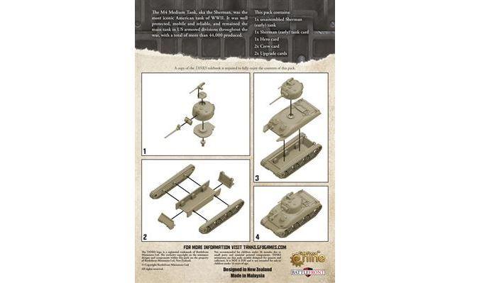 TANKS: American Sherman (early) Tank image