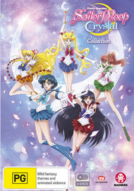 Sailor Moon Crystal Collection (Limited Edition) on DVD