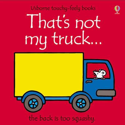 That's Not My Truck by Fiona Watt image