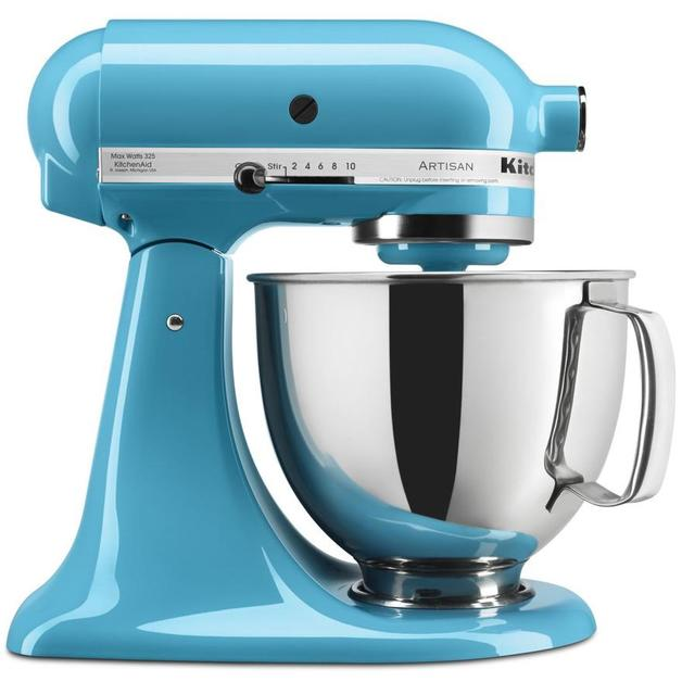 KitchenAid: Stand Mixer - Crystal Blue