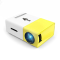 Portable Full Color LED LCD Video Projector - Yellow